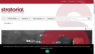 Site internet de Stratorial