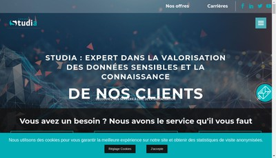 Site internet de Imnet France