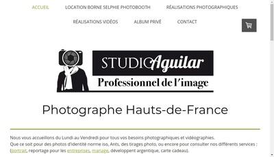 Site internet de Studio Aguilar