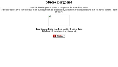 Site internet de Eric Bergoend