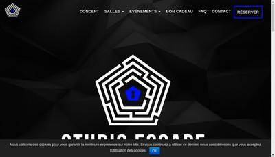 Site internet de Studio Escape