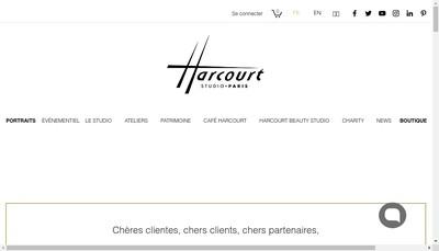 Site internet de Harcourt