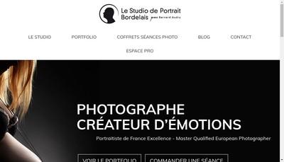 Site internet de Bernard Audry Photographe