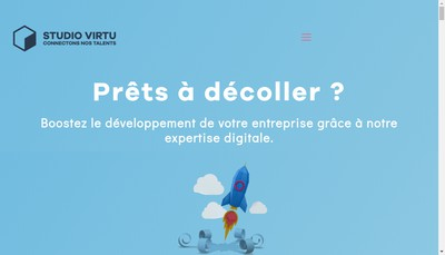 Site internet de Studio-Virtu