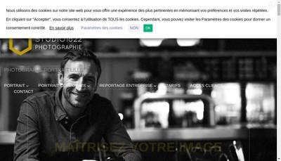 Site internet de Studio 1822