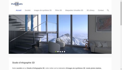 Site internet de Studio Graphy