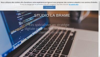Site internet de SARL Studio la Brame