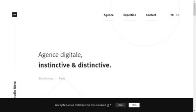 Site internet de Studio Meta