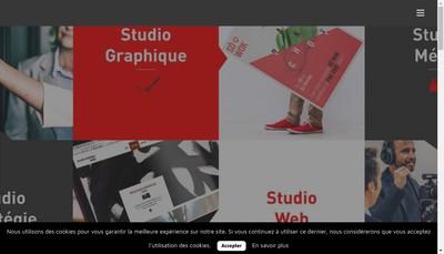 Site internet de Studios H2G