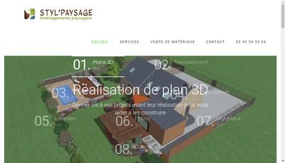 Site internet de Styl'Paysage