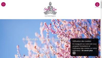 Site internet de Style Zen Esthetique
