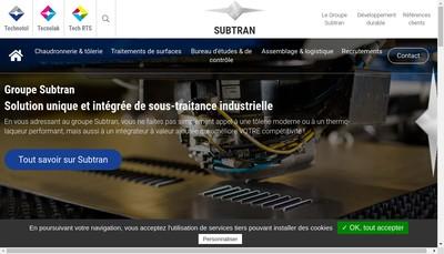 Site internet de Tech-Rts