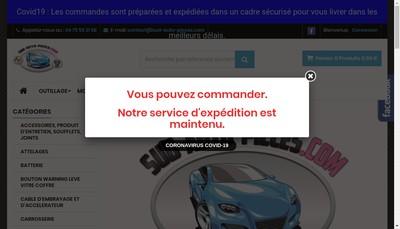 Site internet de Kruck Auto