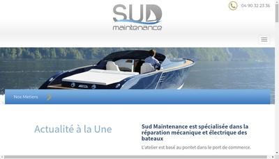 Site internet de Sud Maintenance
