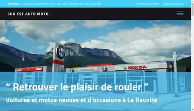 Site internet de Sud Est Motos