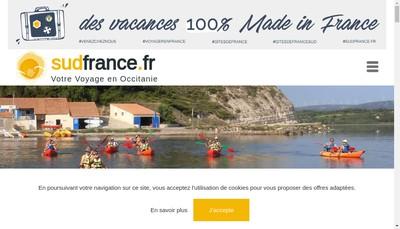 Site internet de Sudfrance Fr