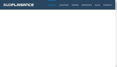 Site internet de Sud Plaisance