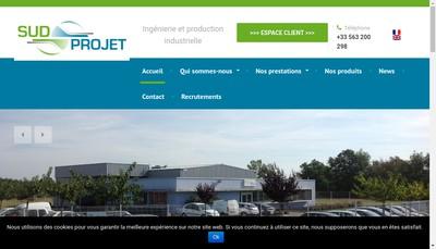 Site internet de Sud Projet