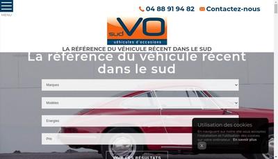 Site internet de Sud Vo