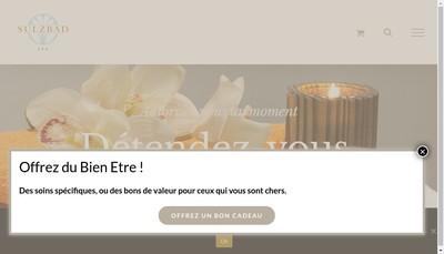 Site internet de Societe des Bains de Sulzbad