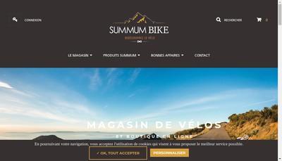 Site internet de Summum Bike
