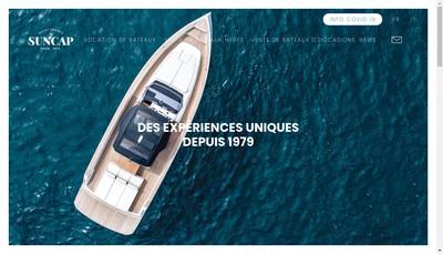 Site internet de Suncap Company