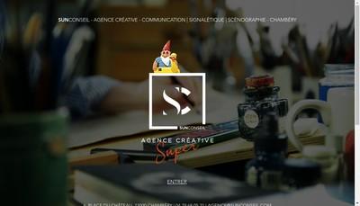 Site internet de Sun Conseil Cote d'Azur