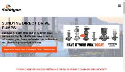 Site internet de Sundyne Holdings France SAS