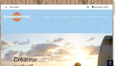 Site internet de Sportex