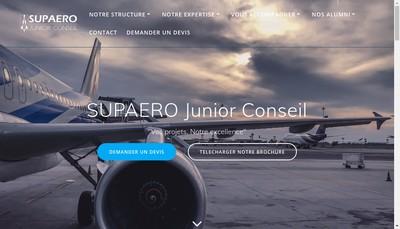 Site internet de Supaéro Junior Conseil