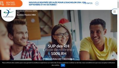 Site internet de Supdesrh Services