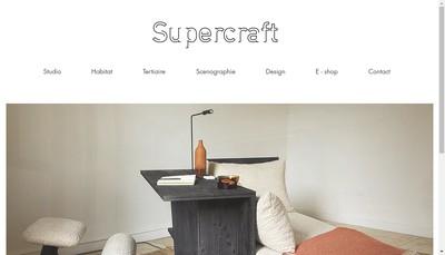 Site internet de Supercraft
