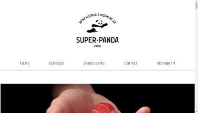 Site internet de Superpanda Prod