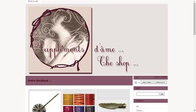 Site internet de Supplements d'Ame
