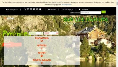 Site internet de Sur les Hauteurs