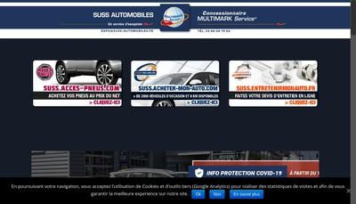 Site internet de Garage Suss