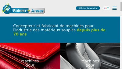 Site internet de Suteau Anver