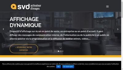 Site internet de Svd