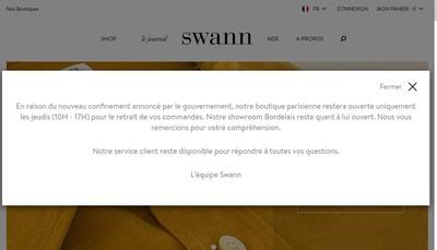 Site internet de Swann et Oscar