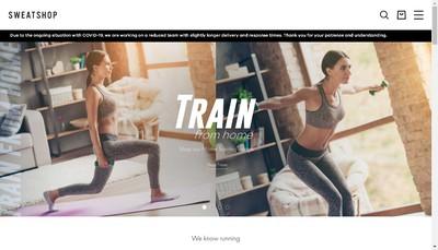 Site internet de Sweatshop