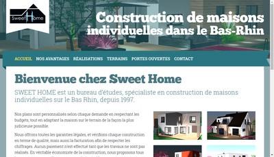 Site internet de Sweet Home