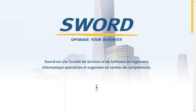 Site internet de Sword Orizon