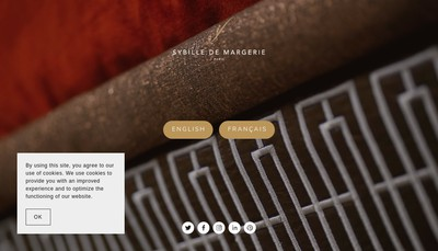 Site internet de SM Design