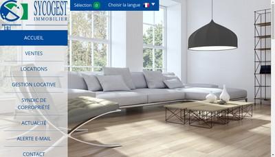 Site internet de Sycogest Immobilier