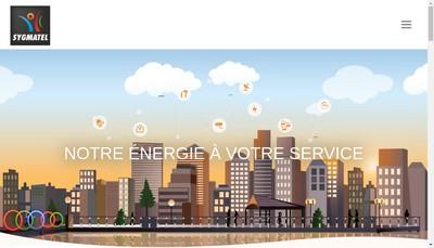 Site internet de Sygmatel