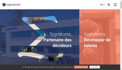 Site internet de Sygnatures Muret