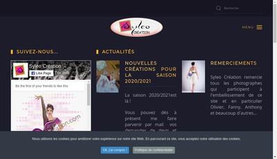 Site internet de Syleo Creation
