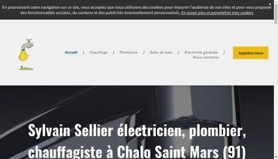 Site internet de Sylvain Sellier