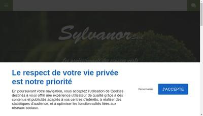 Site internet de Sylvanor