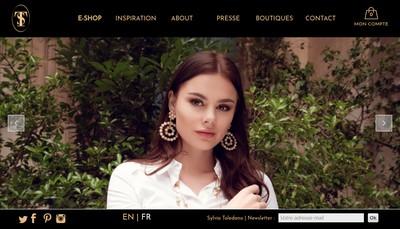 Site internet de Sylvia Toledano Creations